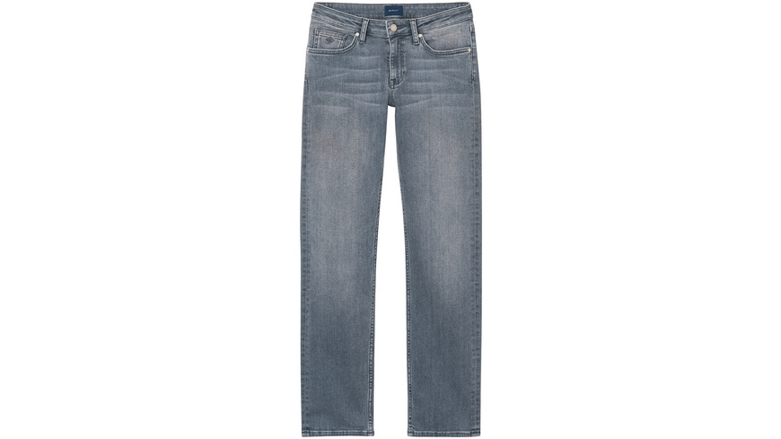 Straight Super Stretch Denim Jeans