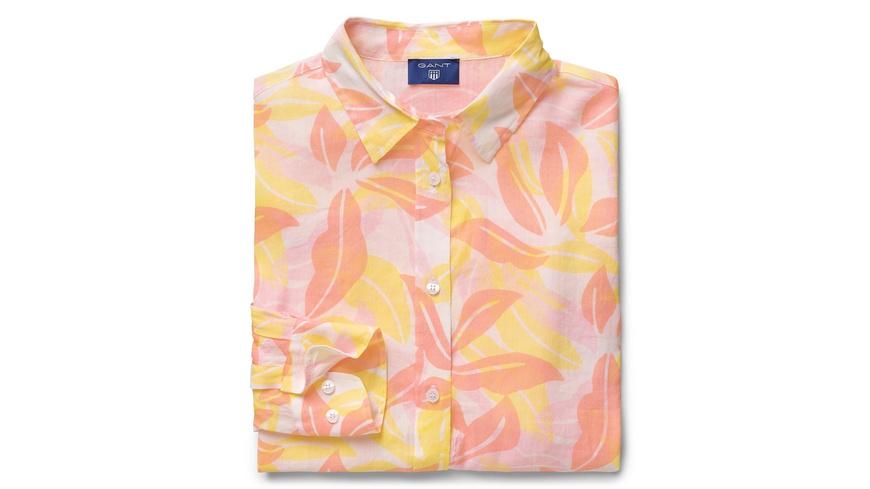 Airy Leaf Bluse