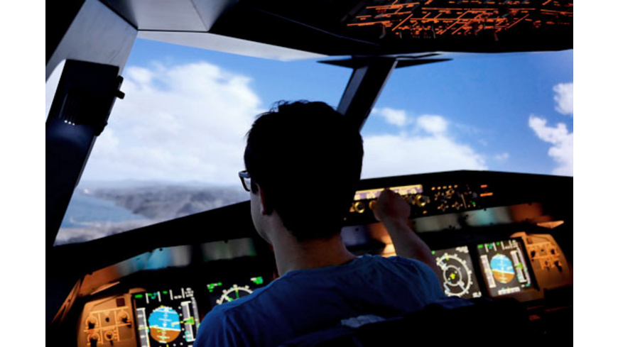 Airbus A320 Flugsimulator in Berlin