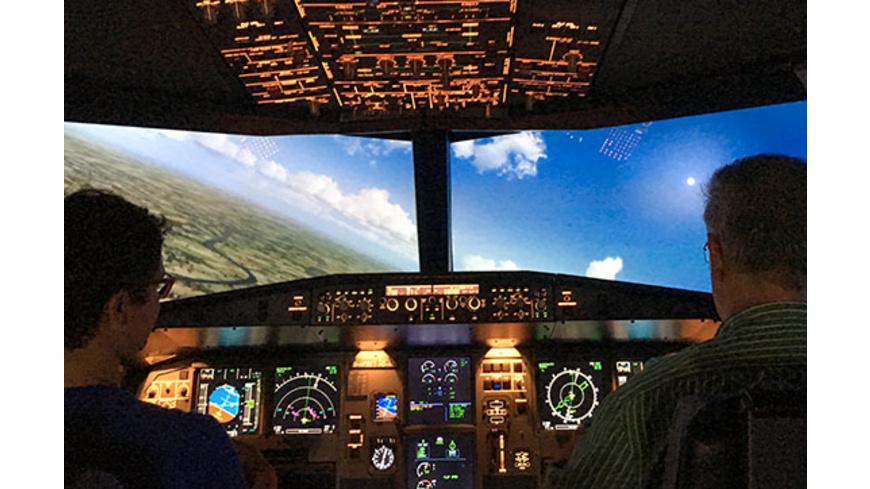 Airbus A320 Flugsimulator in Berlin für 2