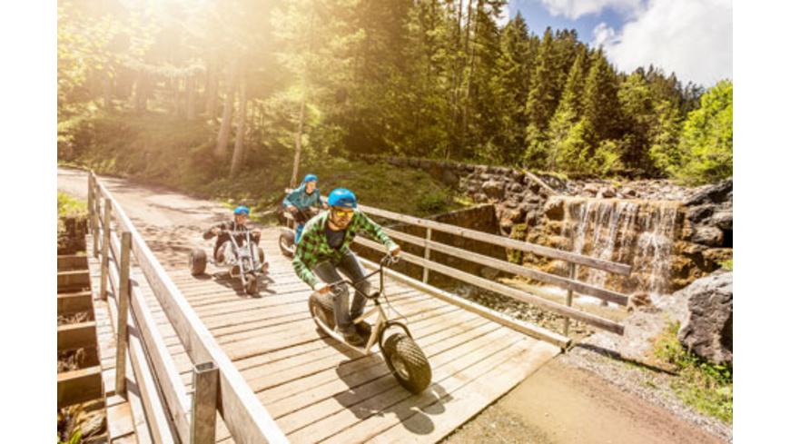 Aktivurlaub in Vorarlberg für 2