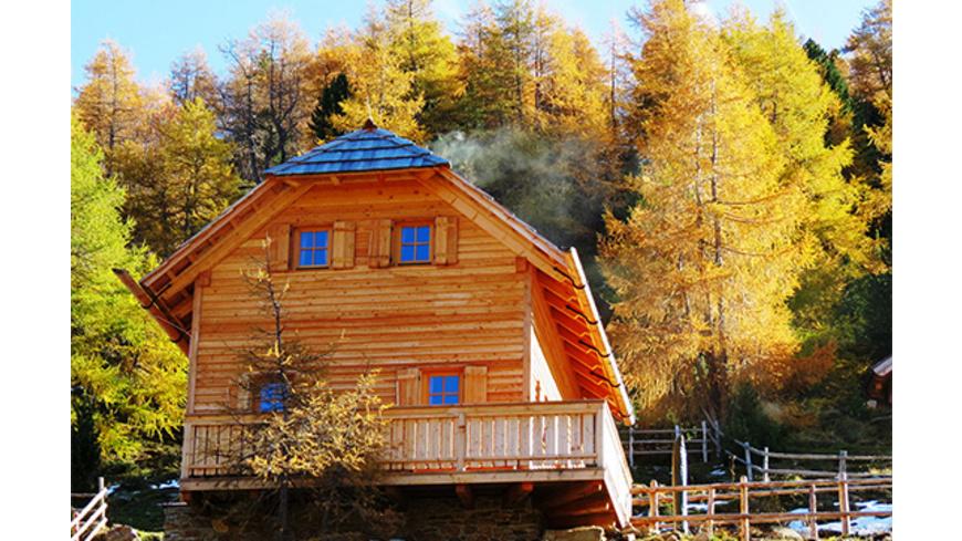Romantischer Almhuetten-Kurzurlaub im Salzburger Land für 2