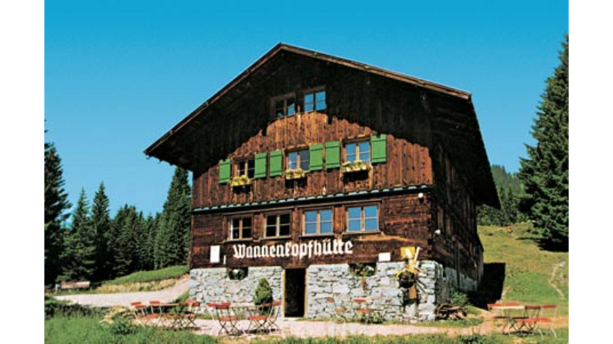 2 Nächte in der Berghuette in Oberstdorf für 2
