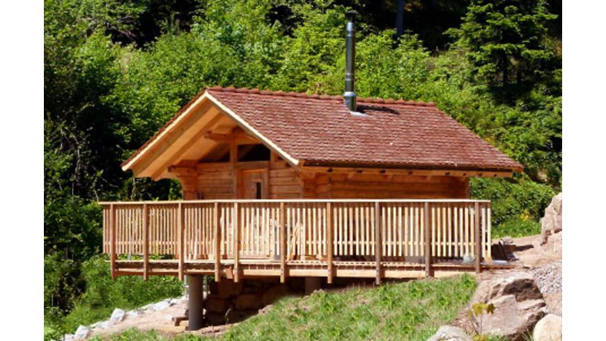 Romantik-Urlaub in der Blockhuette im Schwarzwald für 2
