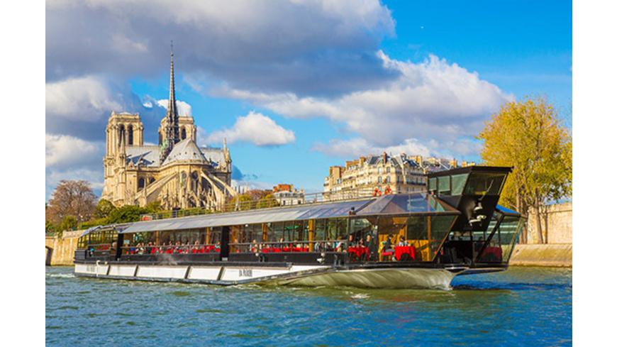 Bootsfahrt auf der Seine mit Mittagessen