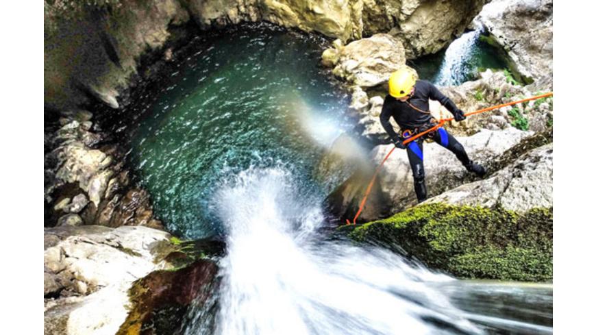 Canyoning für Fortgeschrittene in Vorarlberg