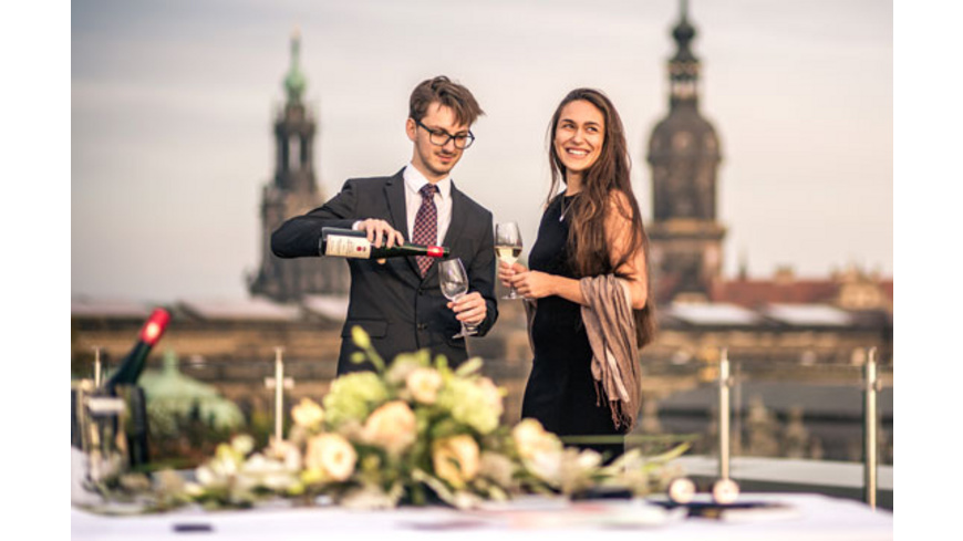 Kurztrip Dresden & Konzert-Dinner für 2
