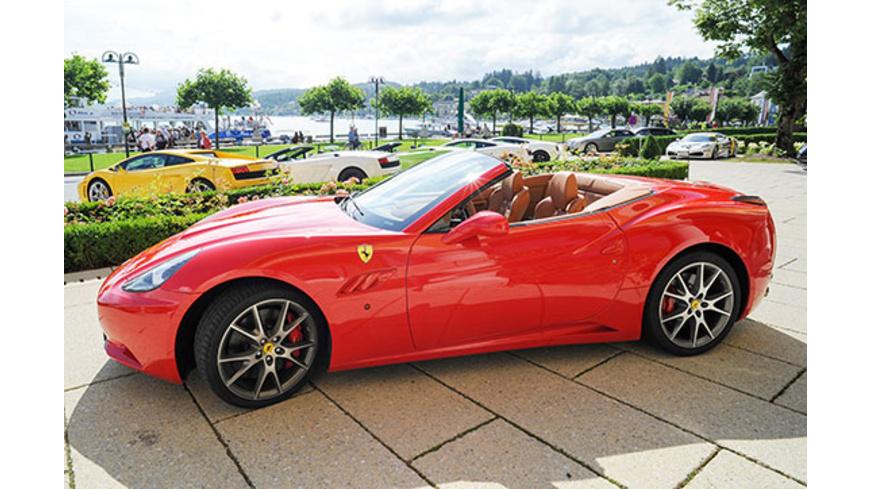 Ferrari selber fahren in Österreich (60 Min.)