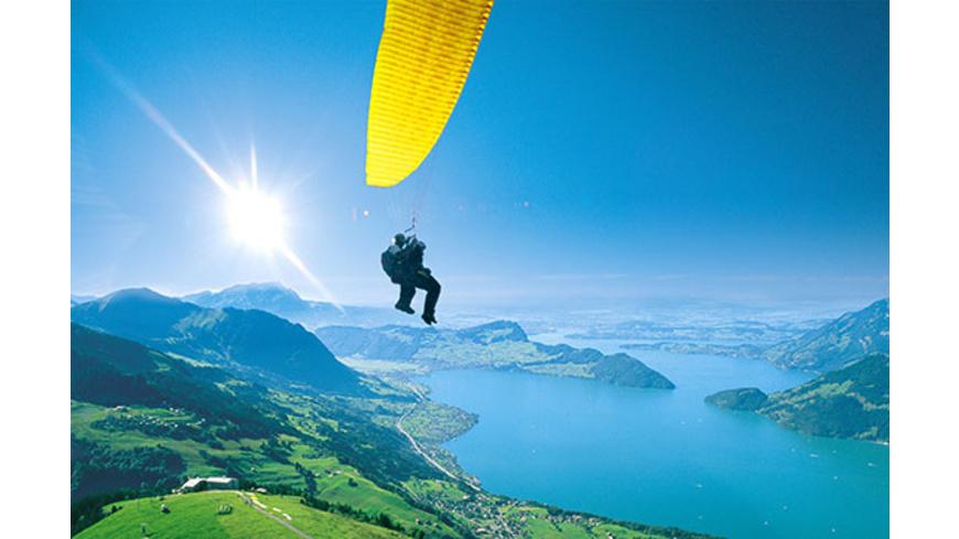Gleitschirm Tandemflug Schweiz