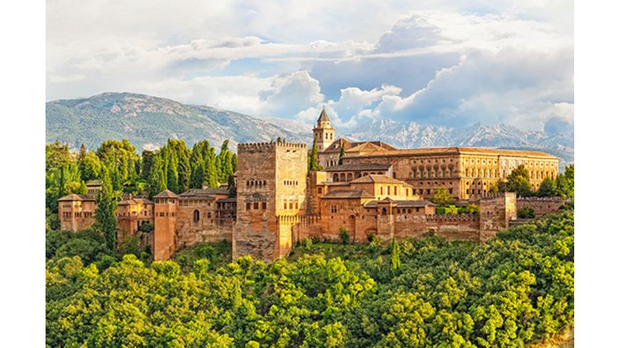 Granada-Kurztrip mit Alhambra-Führung für 2