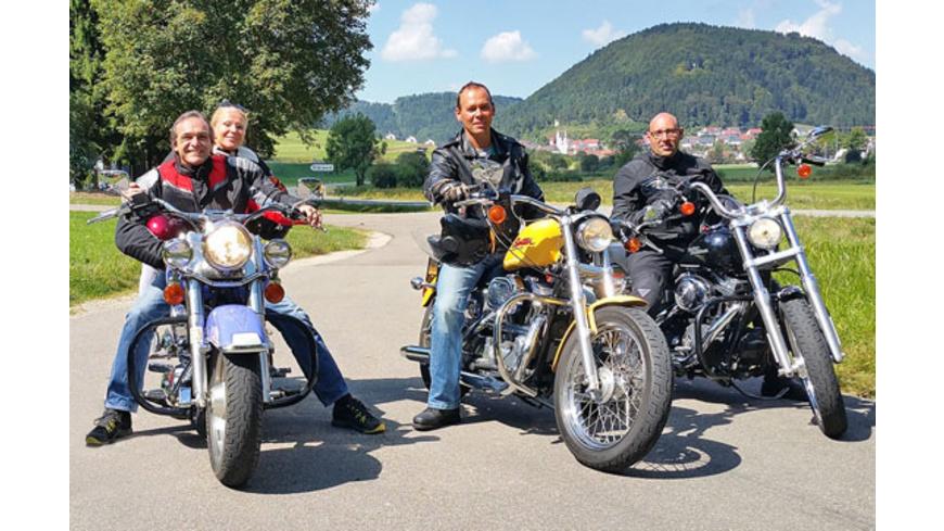 Harley-Tagestour mit Leihmaschine am Bodensee