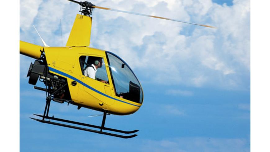 Helikopter selber fliegen in Österreich