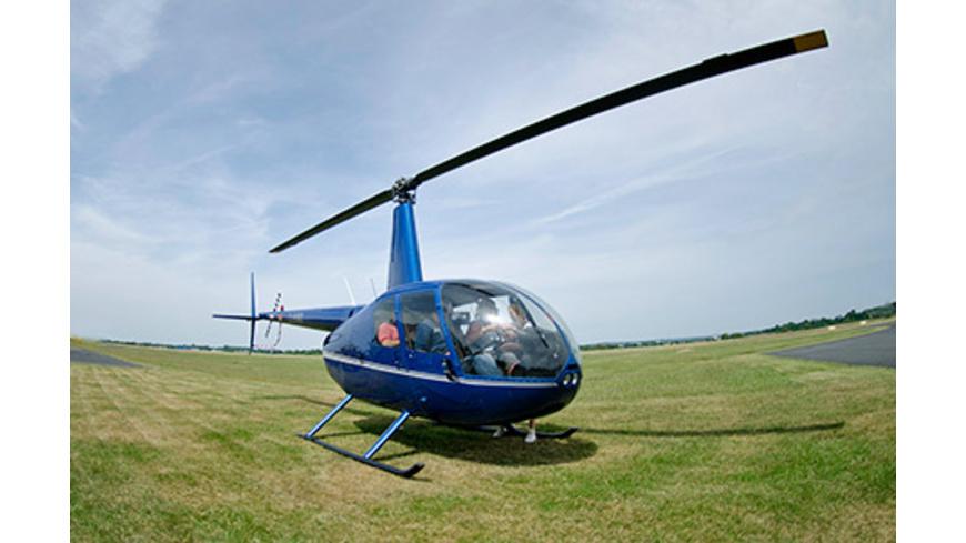 Exklusiver Hubschrauber-Rundflug für 3
