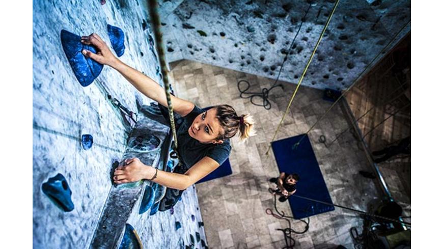 Indoor Kletterkurs