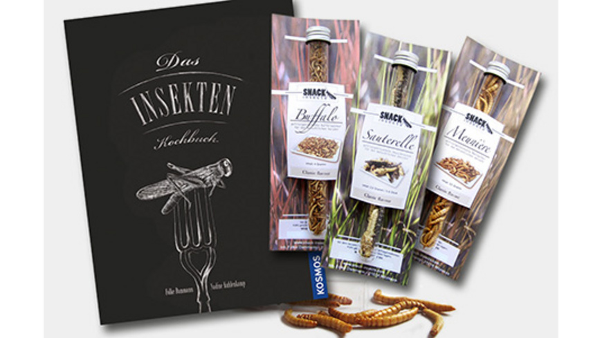 Snack Insects Kochset für Zuhause