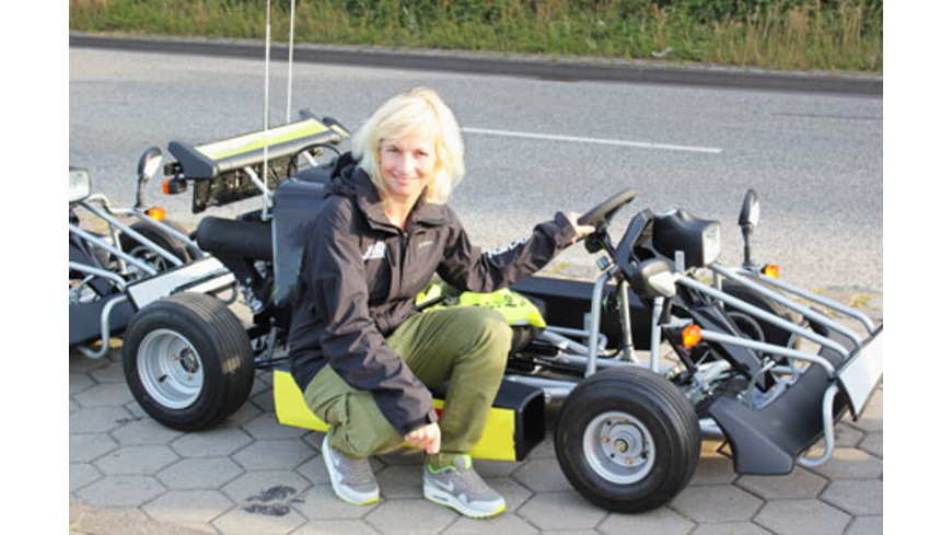 Kart Tour durch Hamburg