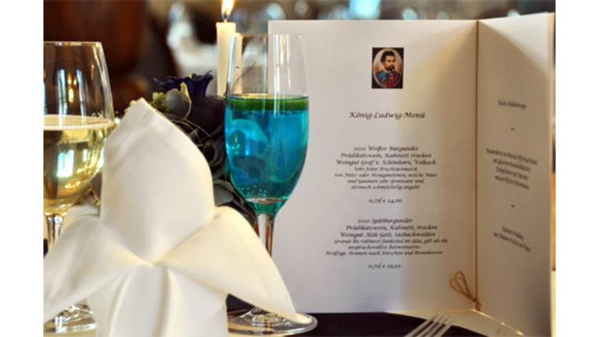 Koenig Ludwig Dinner in München für 2