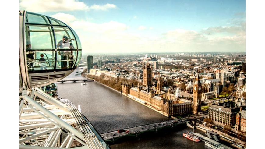London Kurztrip mit London Eye & Dungeon für 2