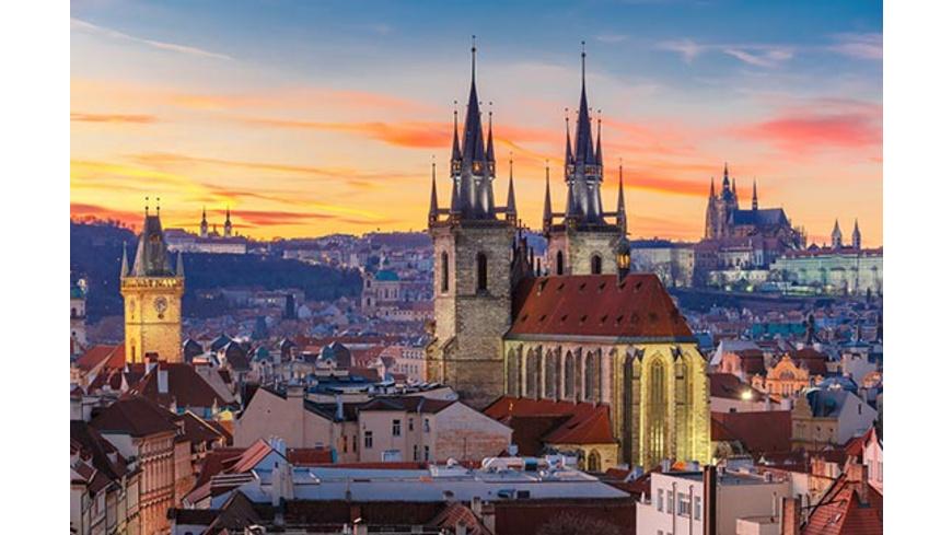 Kurzurlaub Prag mit Mittelalter-Dinner für 2