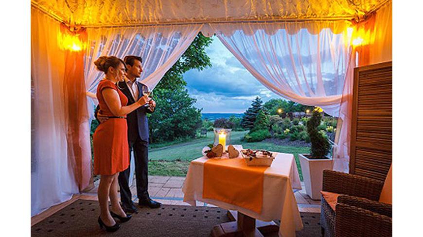 Romantischer Kurzurlaub mit Dinner im Freien bei Kulmbach für 2