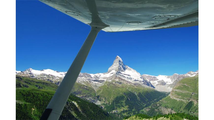 Privat-Rundflug zum Matterhorn für 2