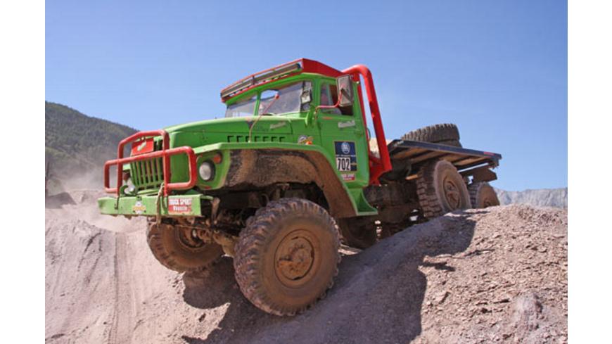 Truck Trial im Ural 6x6