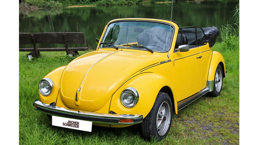 VW Kaefer Cabrio fahren