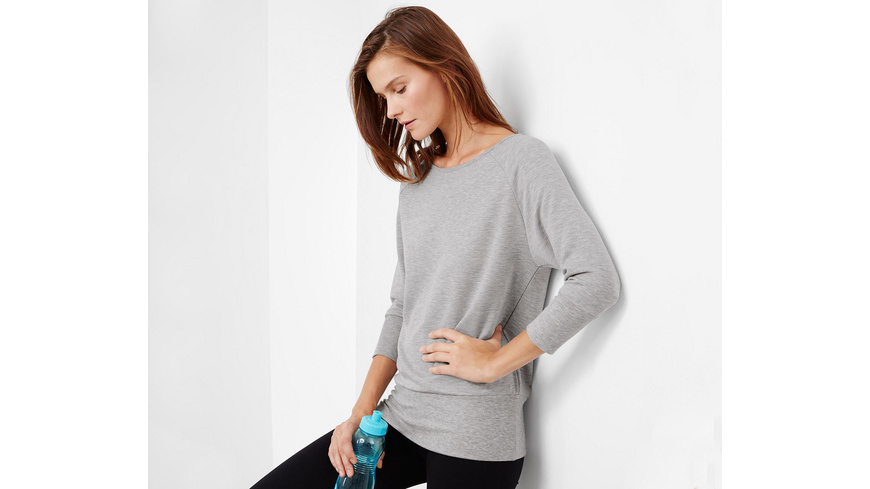 Sweatshirt mit Fledermausärmeln
