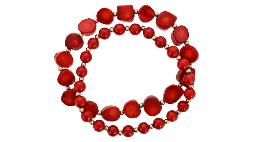 Armband - Shiny Coral