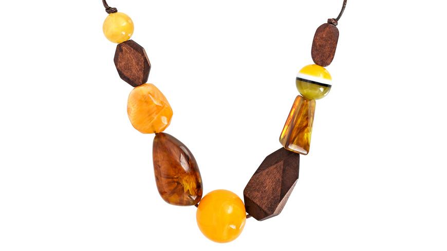 Kette - Wooden Gems