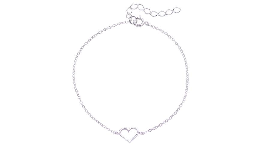 Armband - Silver Heart