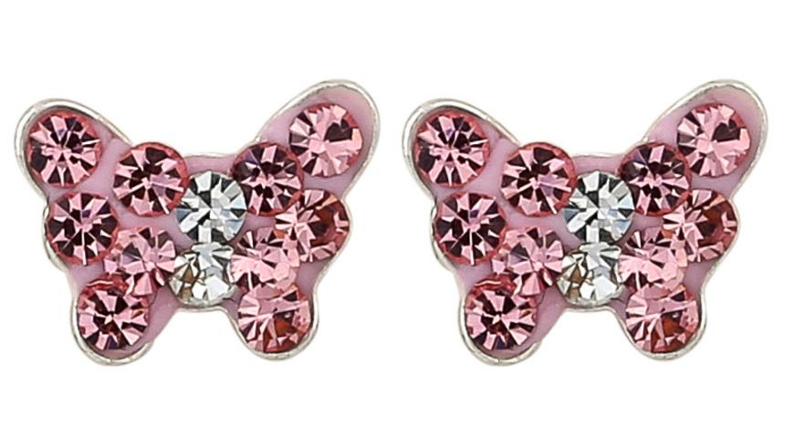 Ohrstecker - Rosé Butterfly