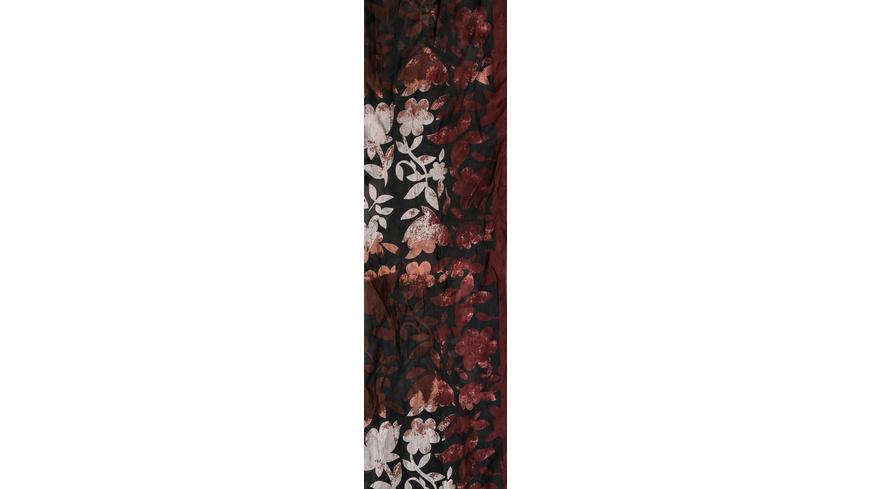 Tuch -  Burgundy Blossom