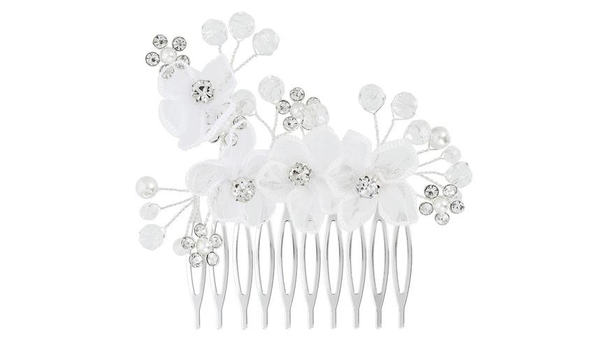 Haarkamm - Glamour Flower