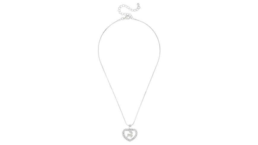 Kette - Glitter Heart