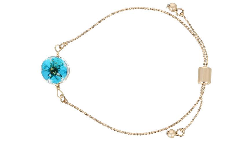 Armband - Blue Flower