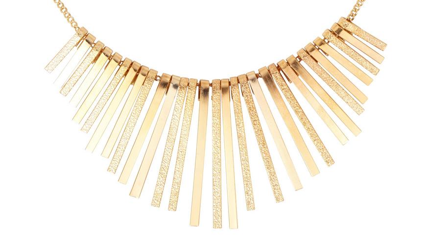 Kette - Golden Stripes