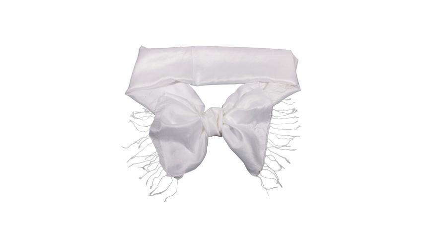 Tuch - White Silk