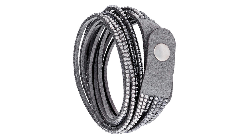 Armband - Glitter Grey