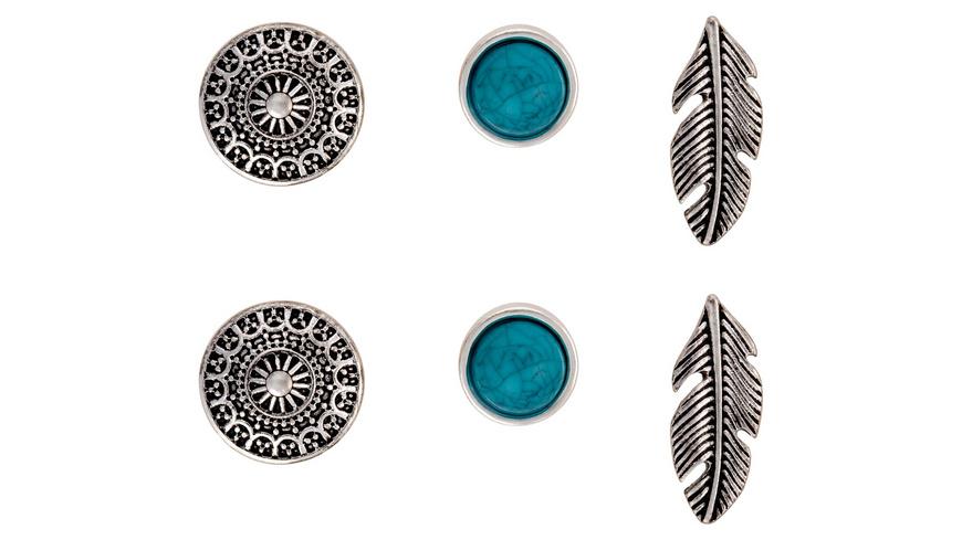 Ohrstecker-Set - Indian