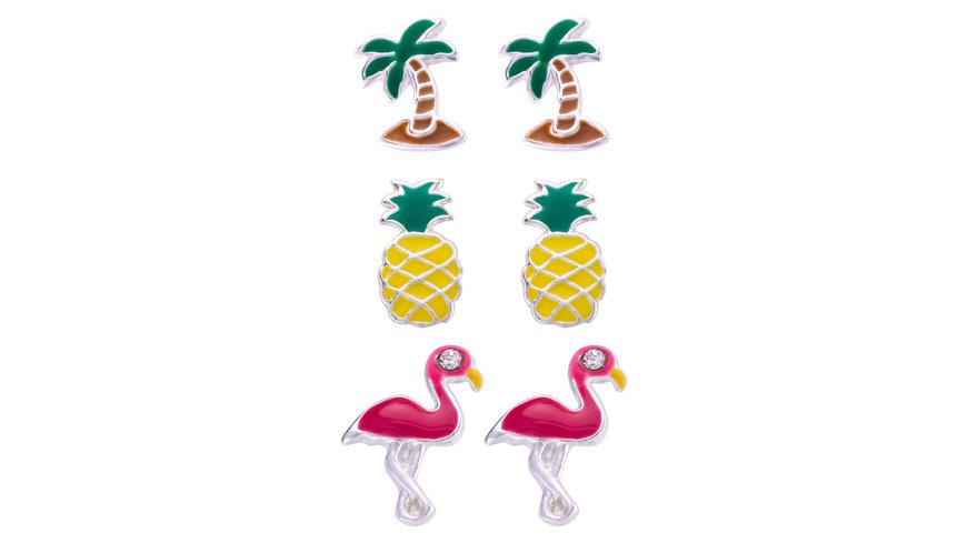 Ohrstecker-Set - Flamingo