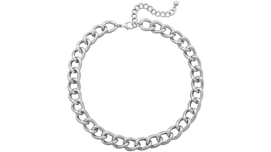Kette - Silver Curb Chain
