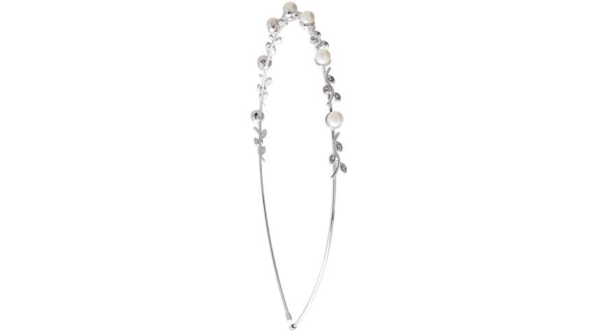 Haarreifen - Perle/Strass