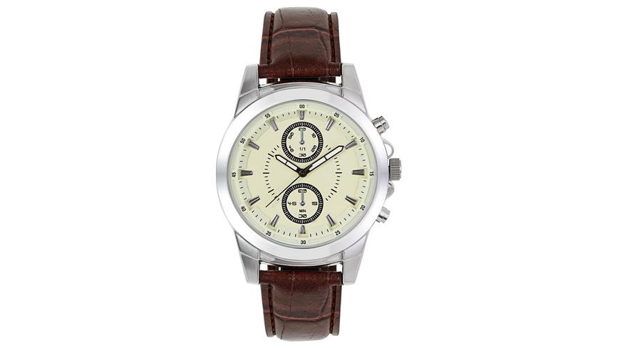 Uhr - Brown Croco
