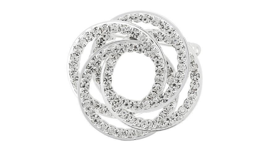 Brosche - Twisted Circles