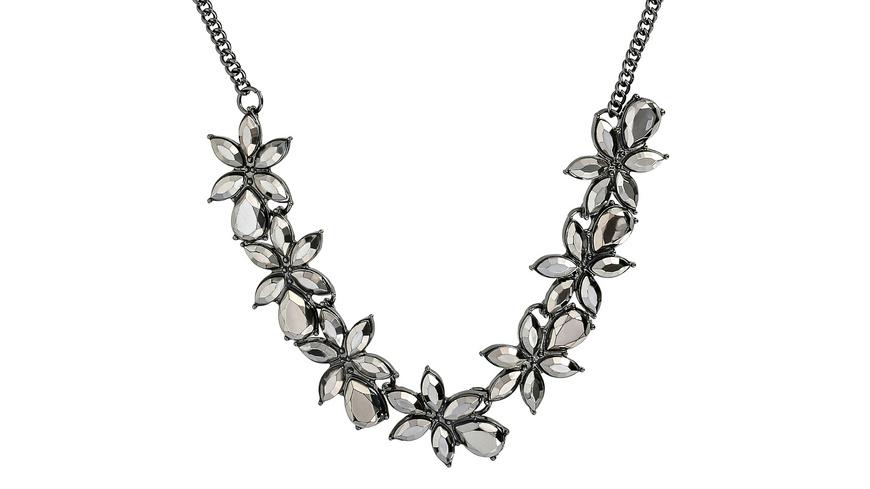 Kette - Onyx Flowers