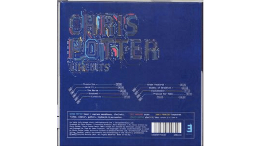 Potter Chris - Circuits - (CD)