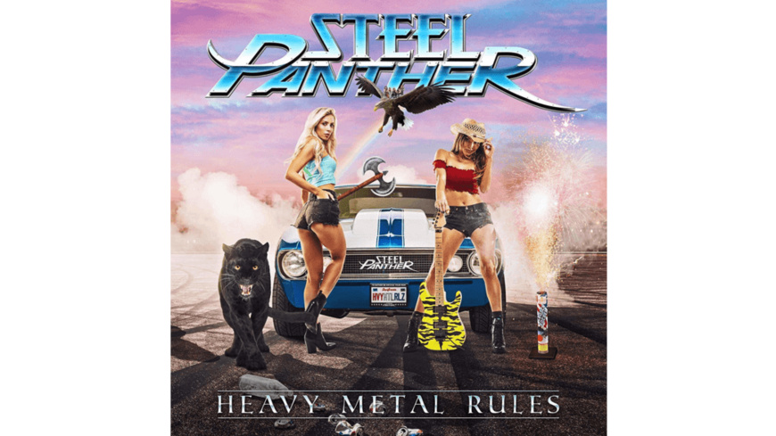 Steel Panther - Heavy Metal Rules - (CD)