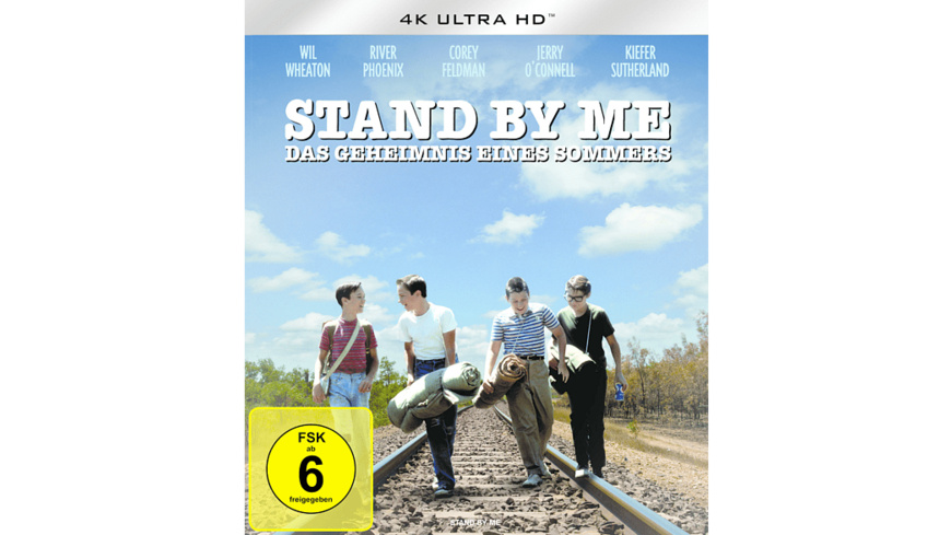 Stand by me - Das Geheimnis eines Sommers - (4K Ultra HD Blu-ray)