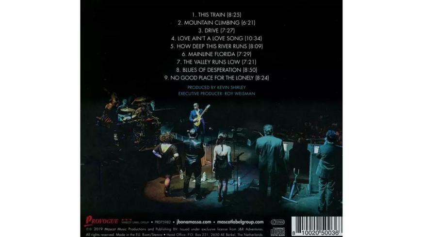 Joe Bonamassa - LIVE AT THE SYDNEY OPERA - (CD)